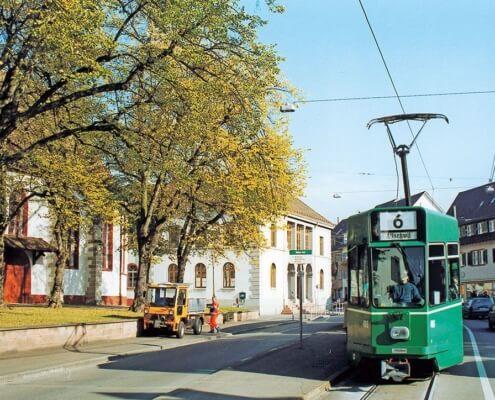 Verkehrskonzept Riehen BS / Gesamtverkehrsplanungen