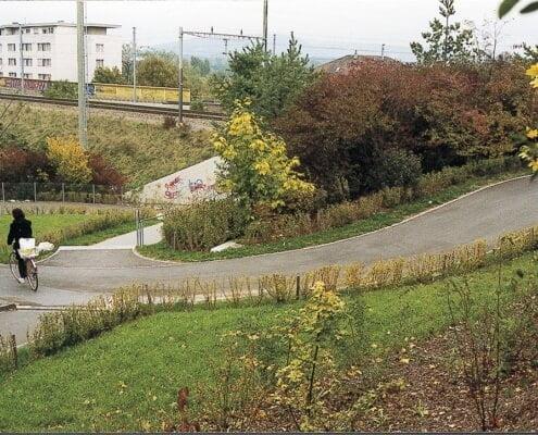 Rad- und Fussweg Dammstrasse Münchenstein BL