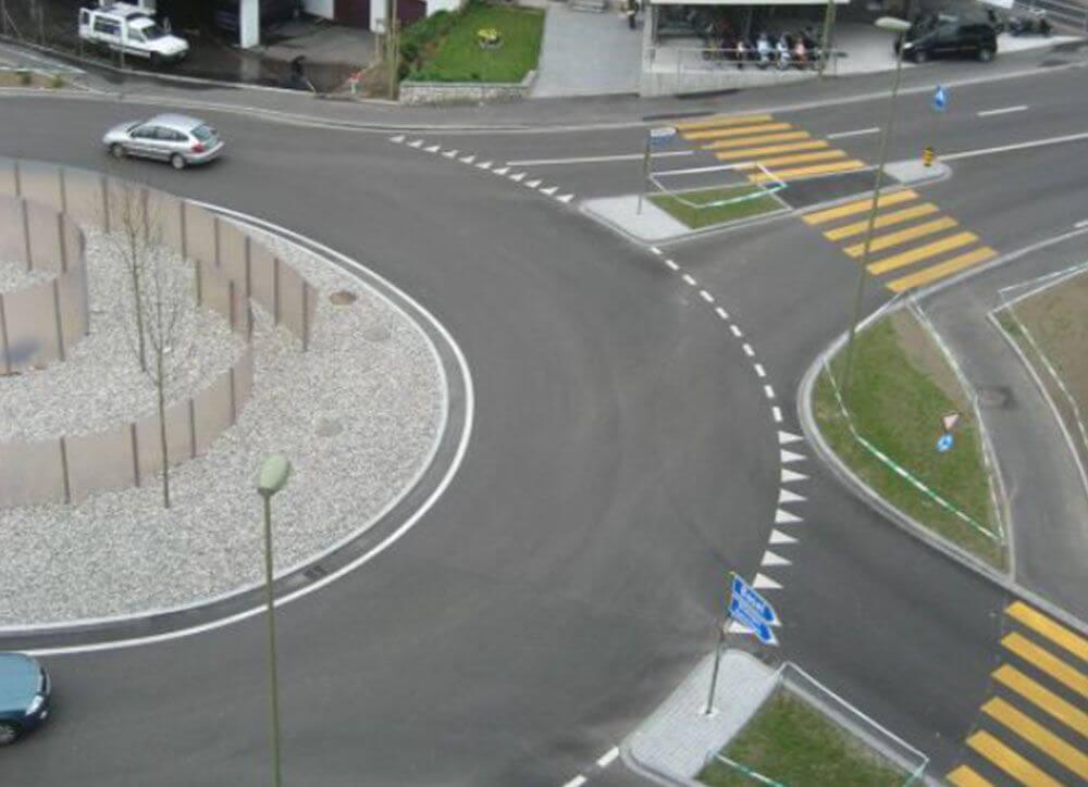 Knotenpunk Postplatz Oberwil BL