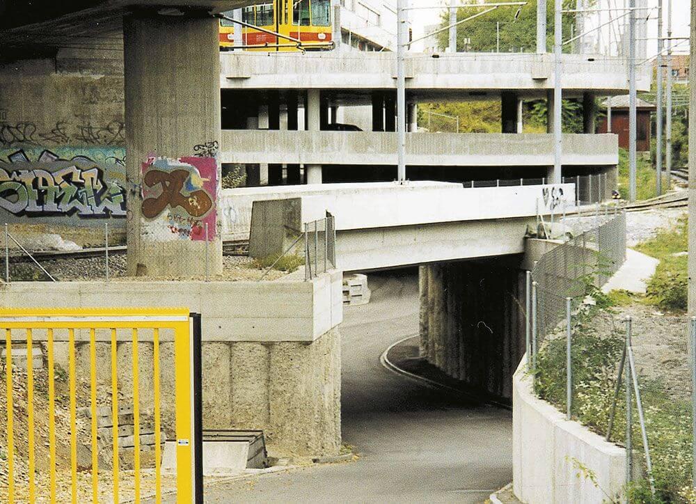 Arealerschliessung BLT-Depot Münchenstein BL