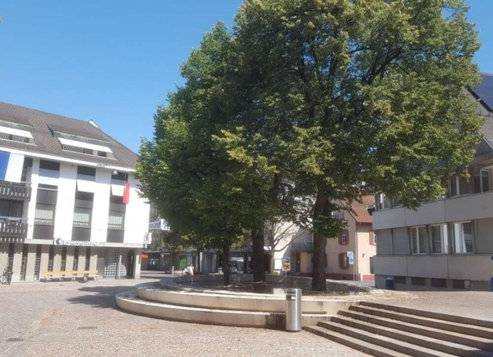 Umgestaltung Dorfzentrum Riehen BS / Betriebs- und Gestaltungskonzept