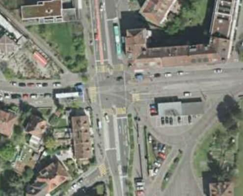 Verkehrstechnisches Projekt Morgartenring BS / LSA