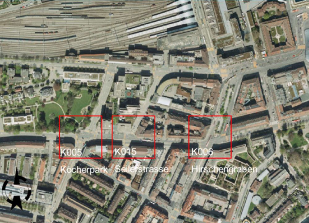 Optimierung von 3 Lichtsignalanlagen Hirschengraben BE / LSA