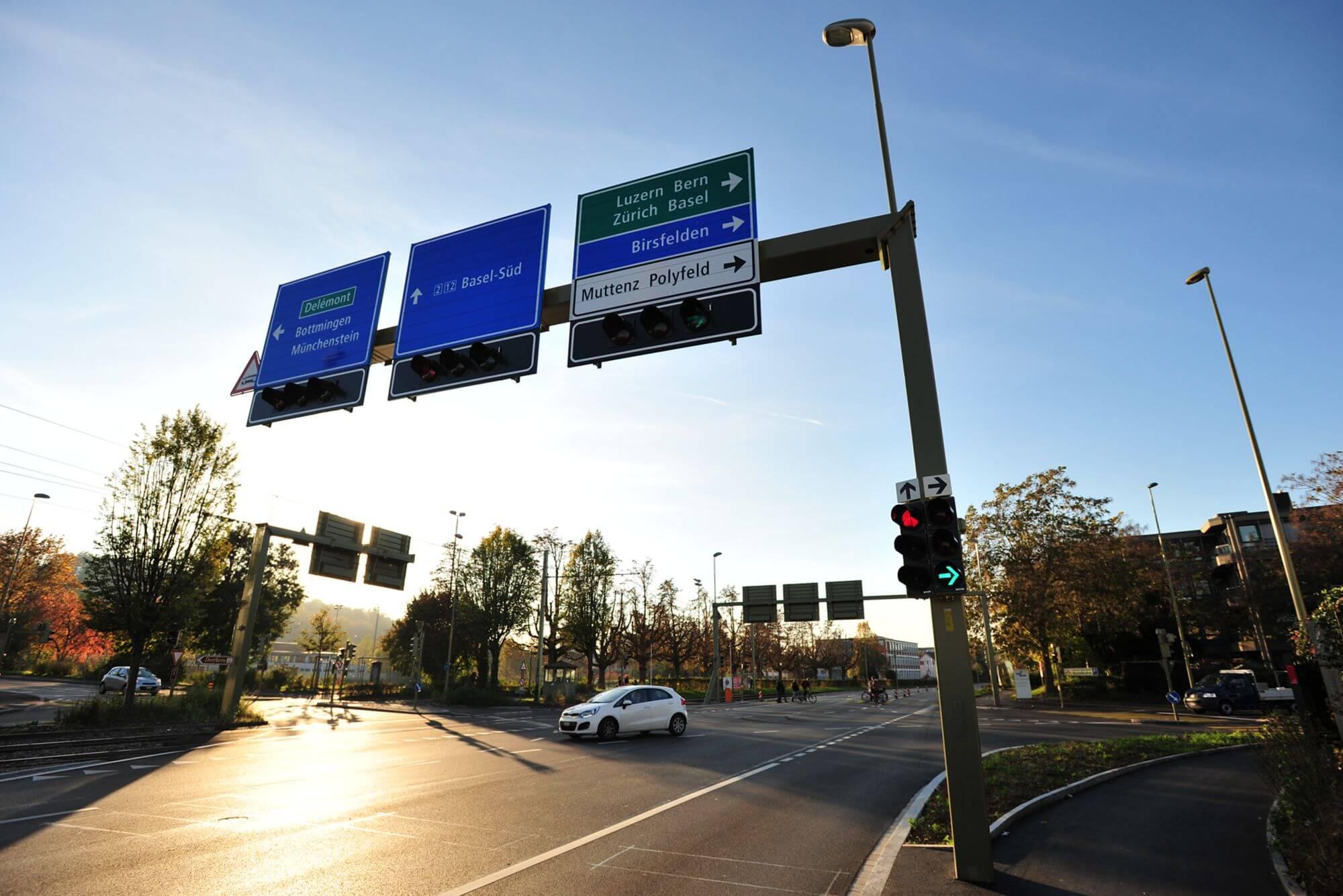 RK&P Verkehrsingenieure AG, Projekt Muttenz BL